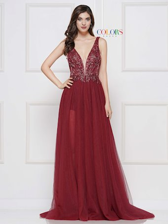 Colors Dress #2117