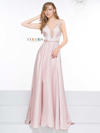 Colors Dress #2120