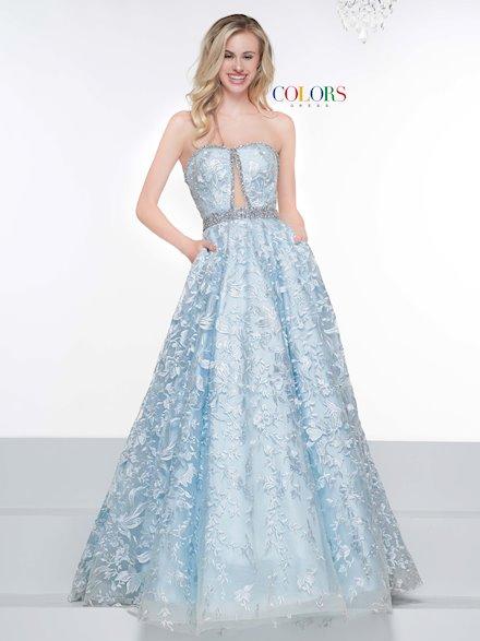 Colors Dress 2127