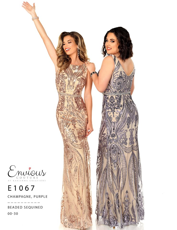 Envious Couture Prom E1067