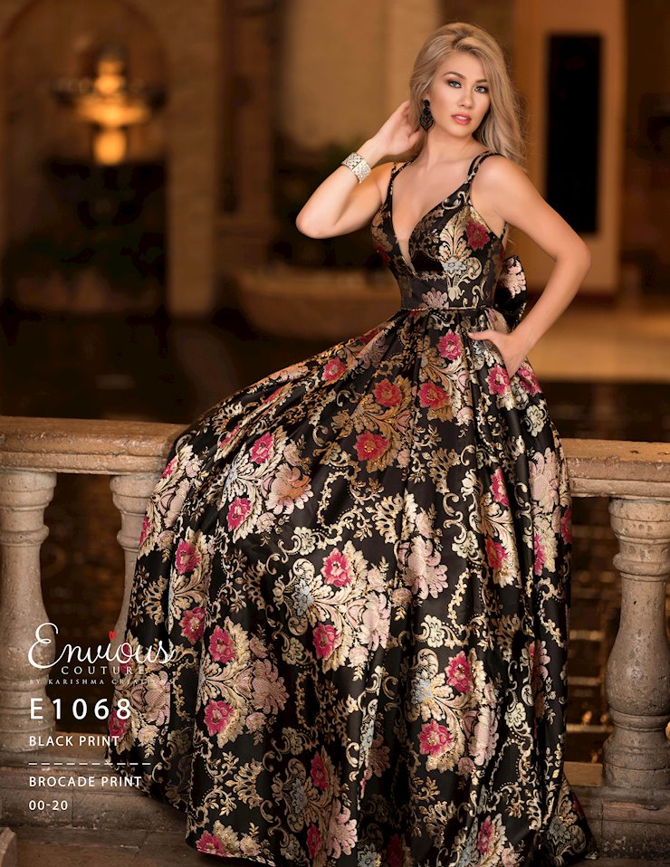 Envious Couture Prom E1068