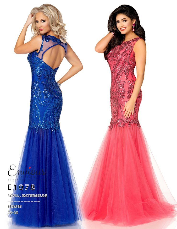 Envious Couture Prom E1078