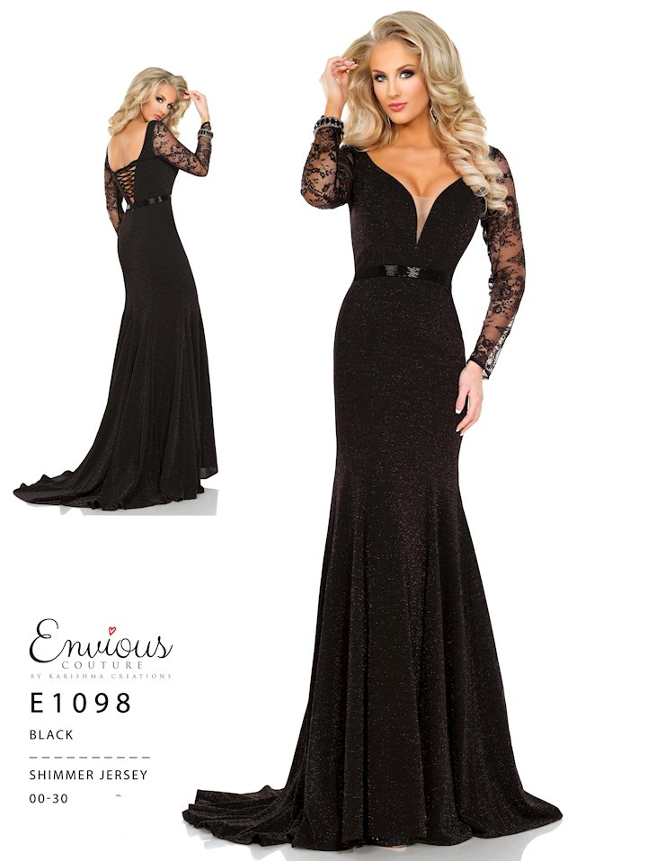 Envious Couture Prom E1098