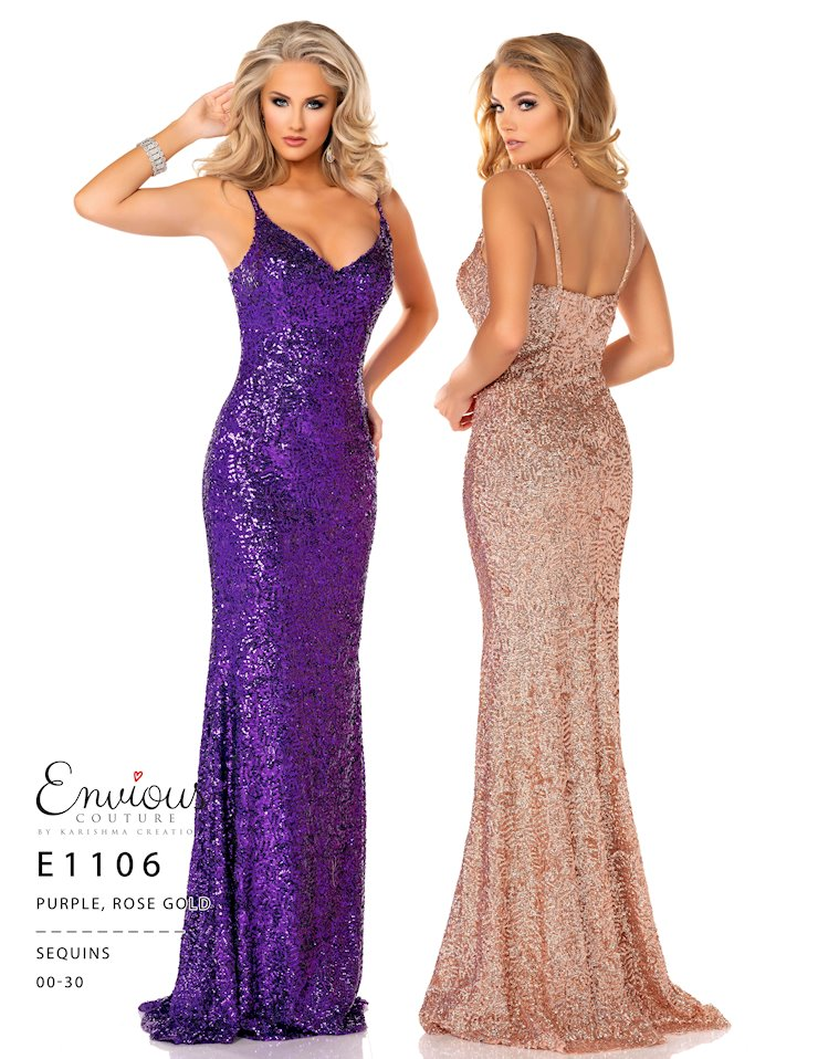 Envious Couture Prom E1106
