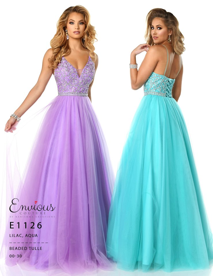 Envious Couture Prom E1126