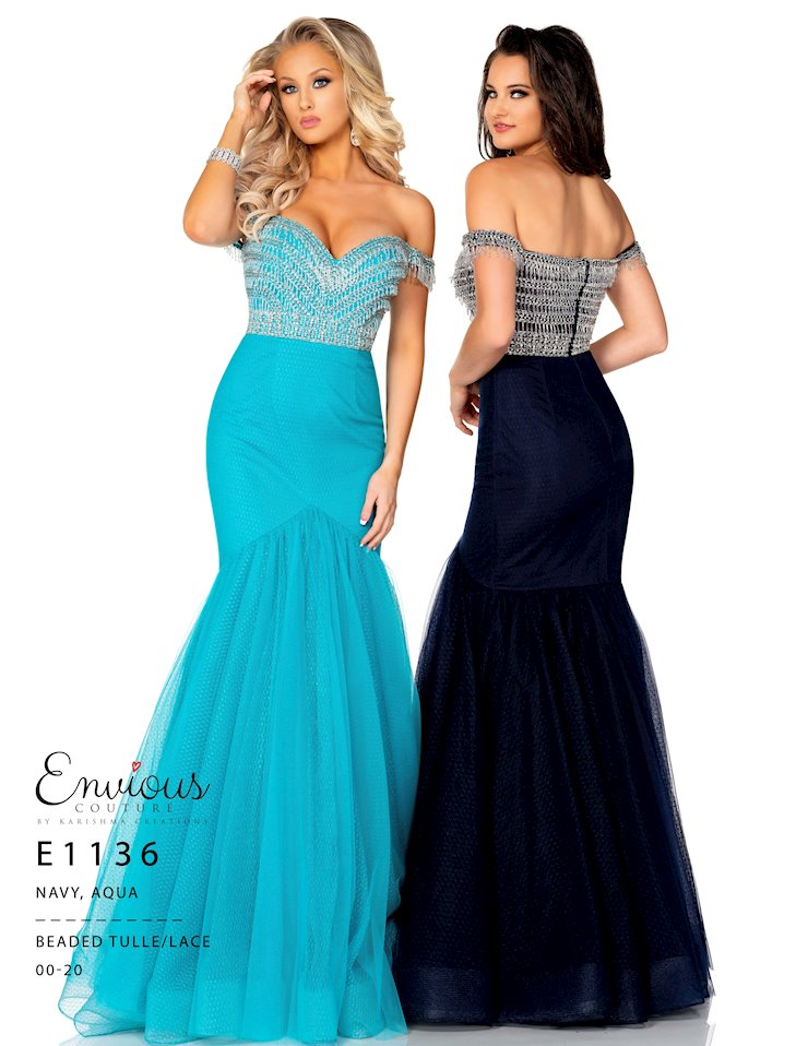 Envious Couture Prom E1136