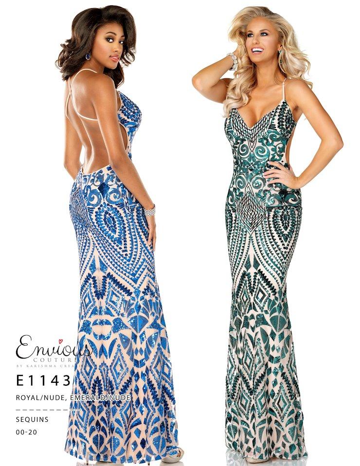 Envious Couture Prom E1143