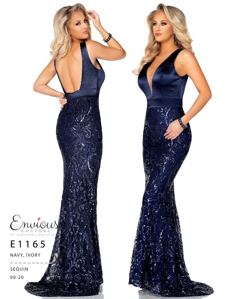 Envious Couture Prom E1165