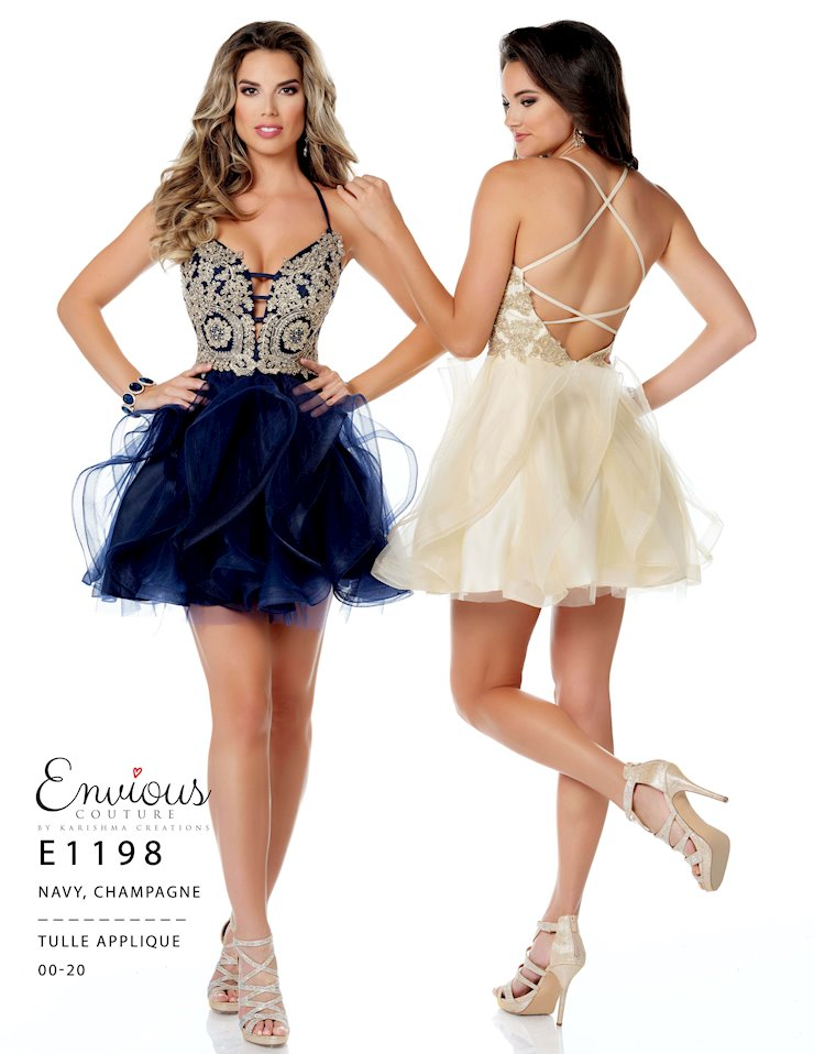 Envious Couture Prom E1198