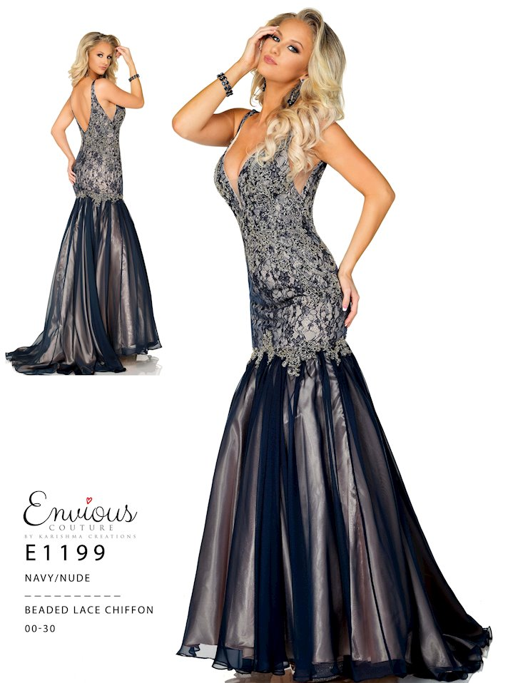Envious Couture Prom E1199