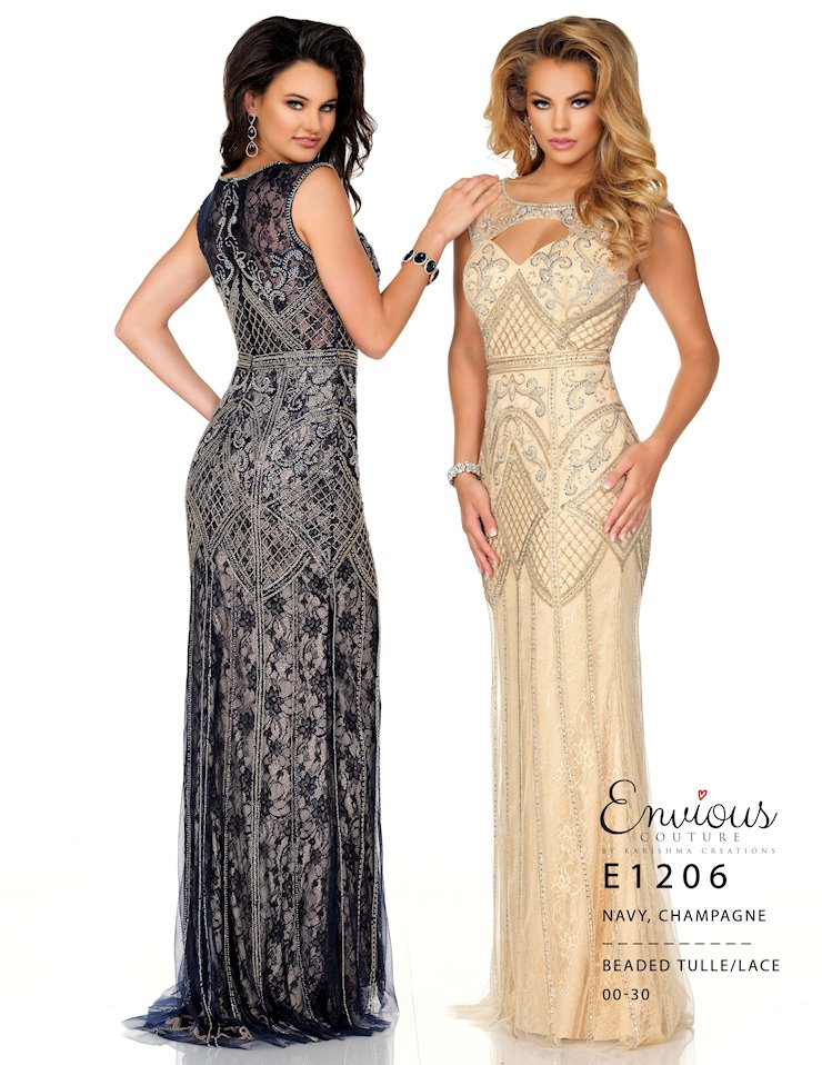 Envious Couture Prom Style #E1206