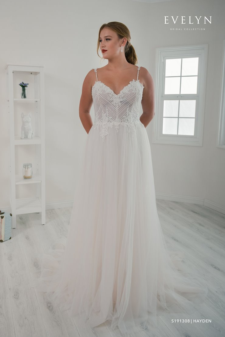 Evelyn Bridal S191308W