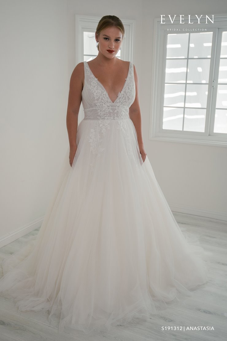 Evelyn Bridal S191312W