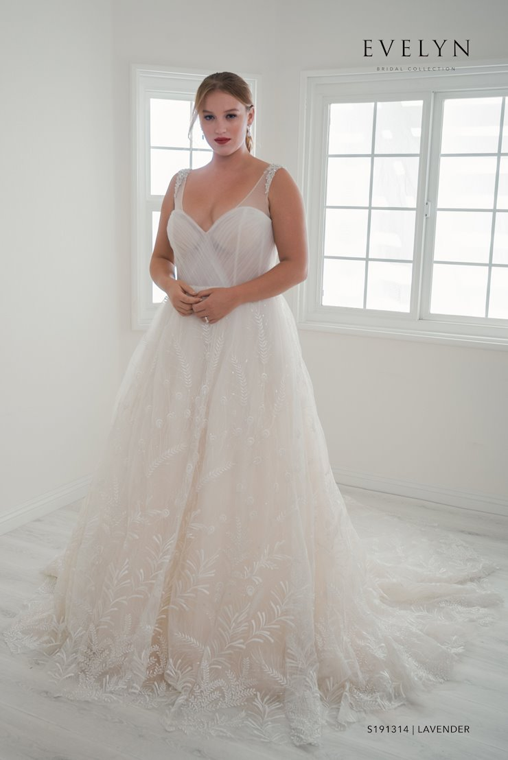 Evelyn Bridal S191314W