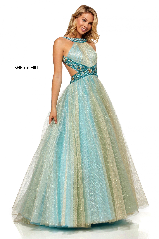 a1bee3a636c9 Sherri Hill - 52403   Nikki's Glitz & Glam Boutique