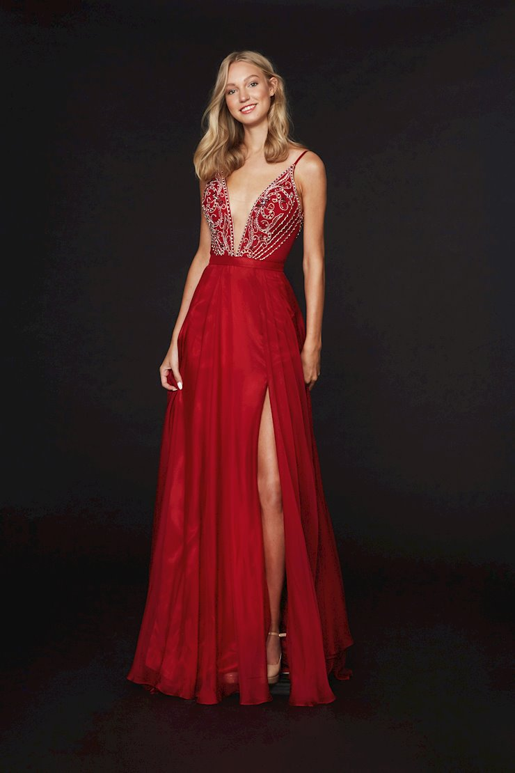 Angela and Alison Prom Dresses 91136