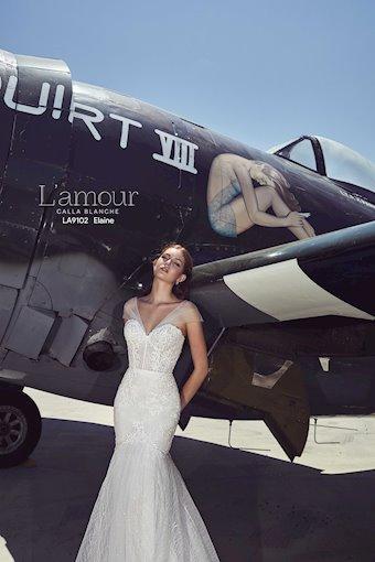 L'Amour by Calla Blanche Style No. LA9102