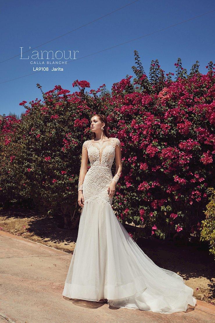 L'Amour by Calla Blanche Style No. LA9108