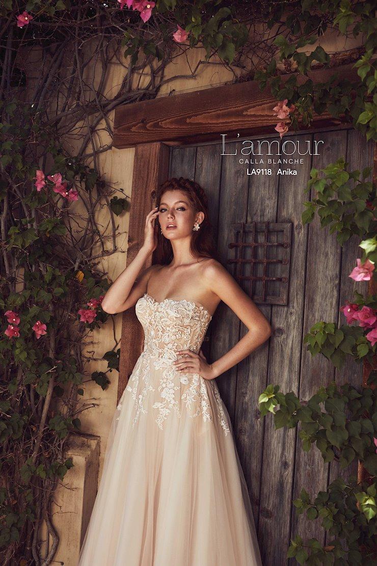 L'Amour by Calla Blanche Style No. LA9118