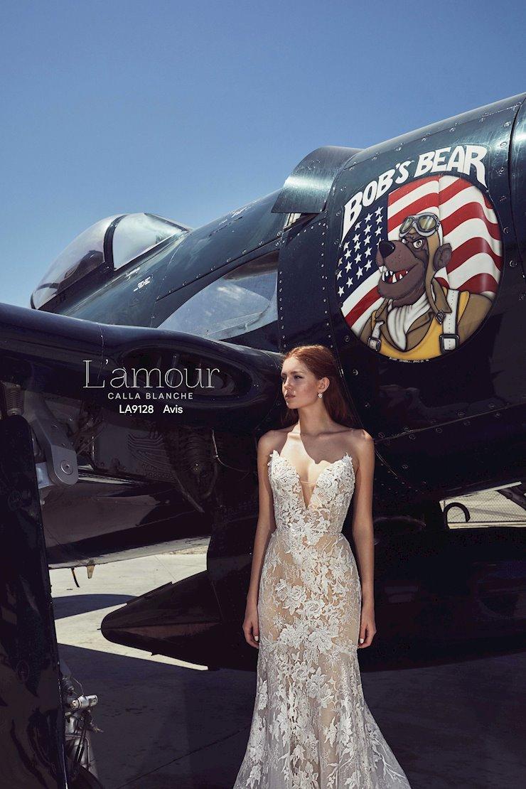 L'Amour by Calla Blanche Style No. LA9128
