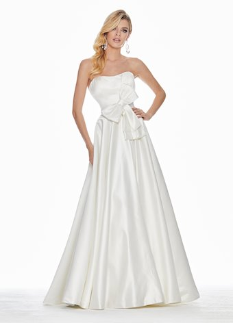 1367 Bow Adorned Ball Gown