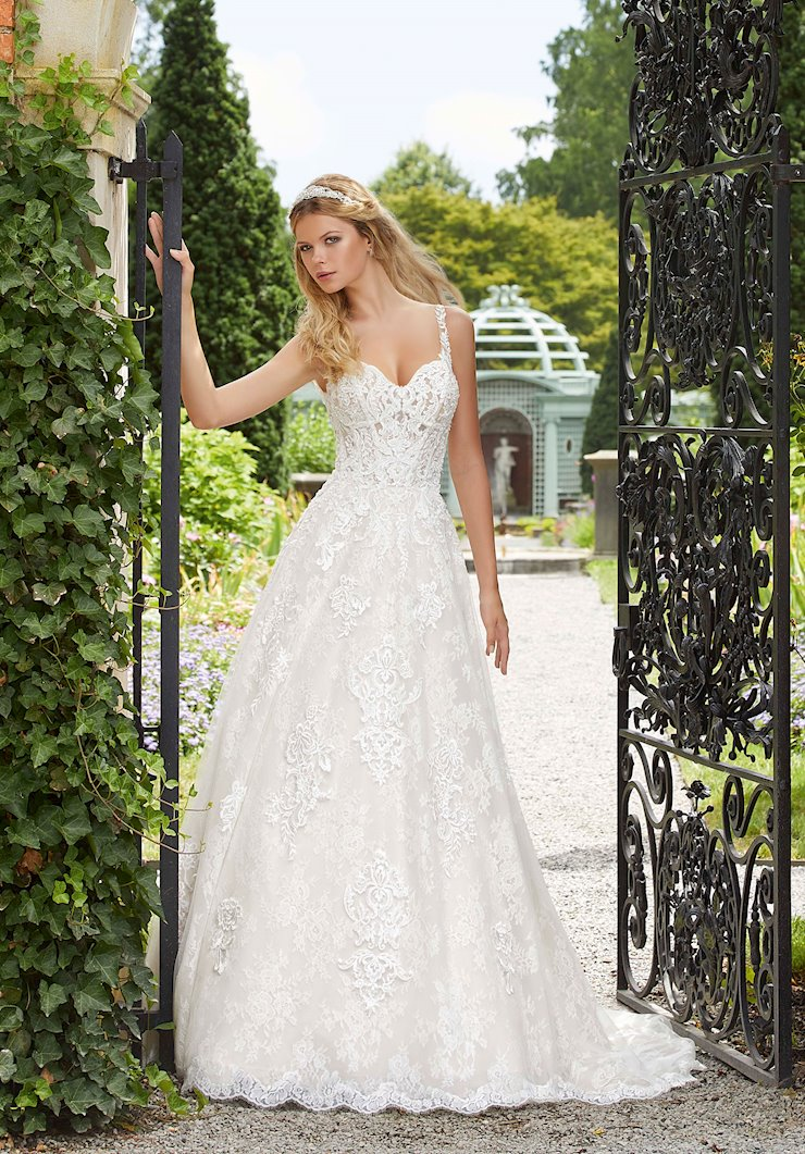 Morilee Style #2029 Crystal and Beaded Ballgown Wedding Dress  Image