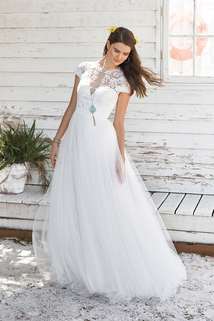 Lillian West Bridal 66038