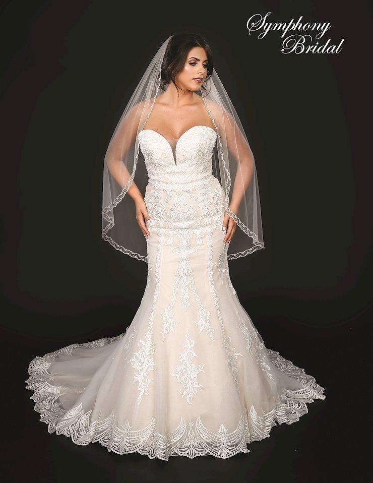 Symphony Bridal Style #7254VL Image