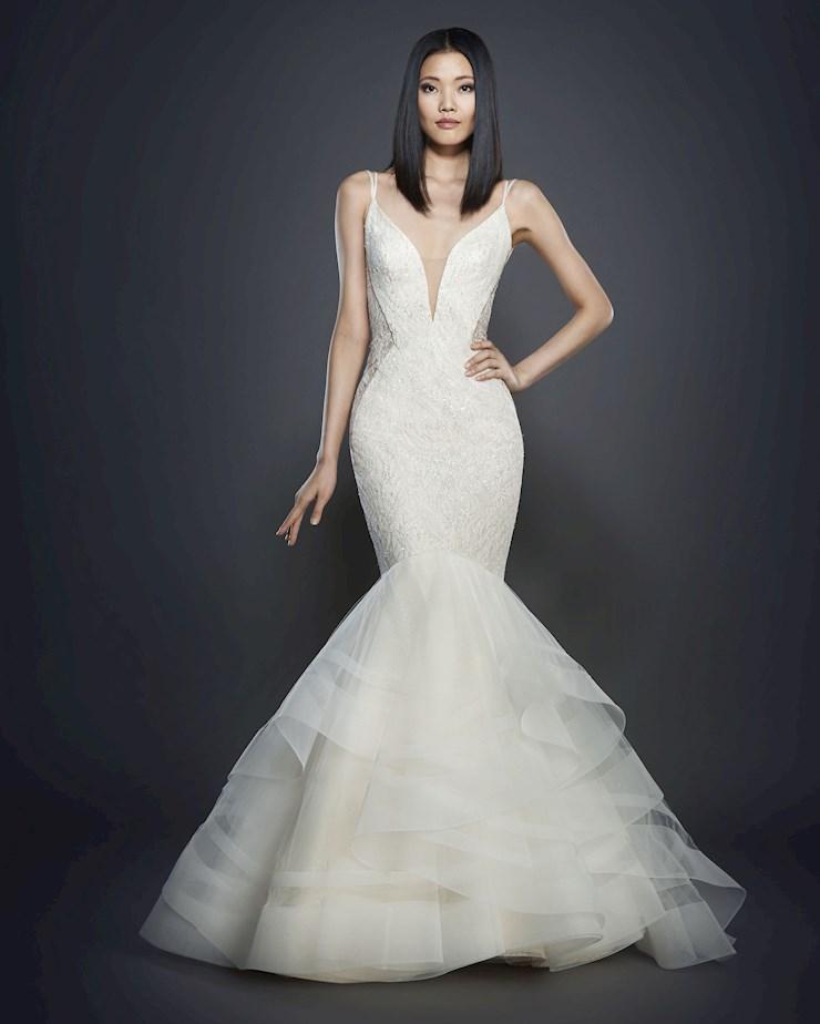 Lazaro 3704 castle couture for Lazaro lace wedding dress
