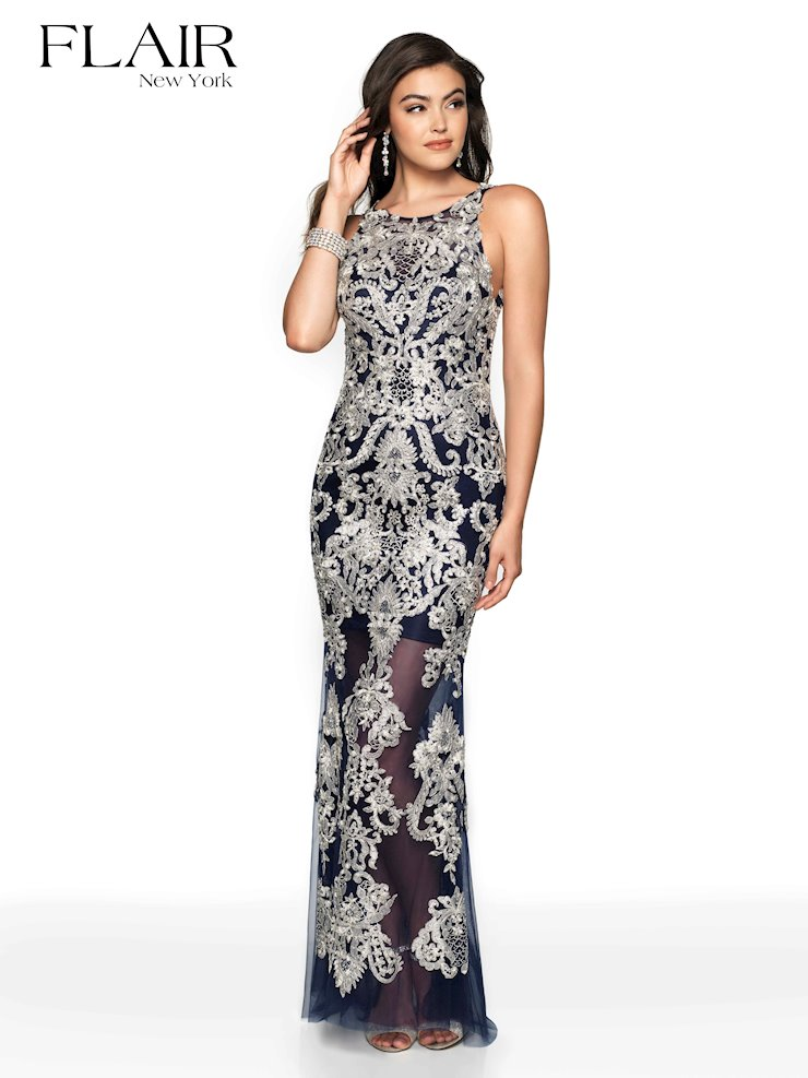 Flair Prom Style #19147B Image