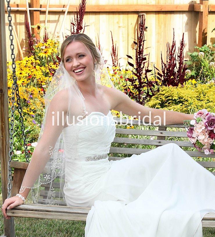 Illusions Bridal Style #V-7076