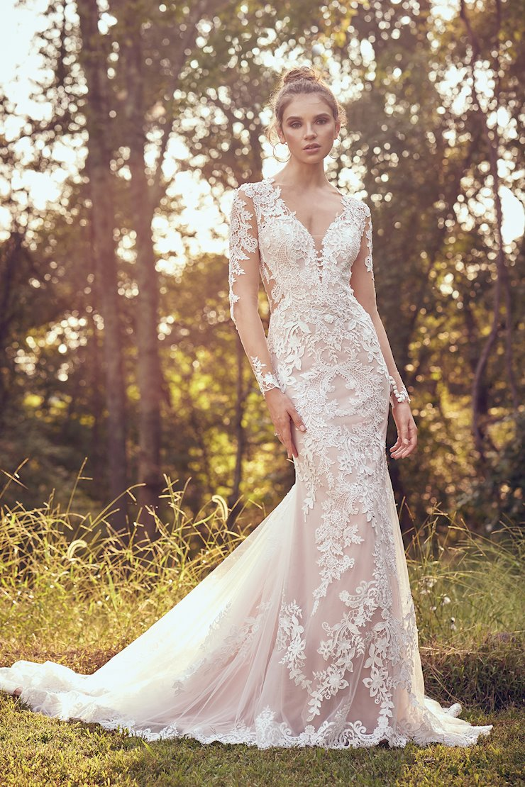 Lillian West Bridal 66084