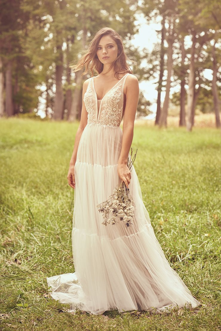Lillian West Bridal 66085