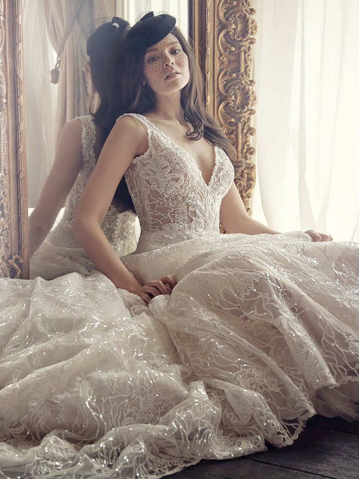 Maggie Sottero Style #Ricarda Rose  Image