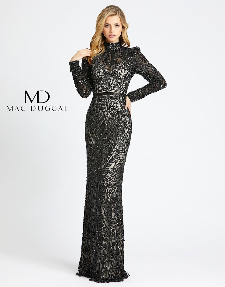 Mac Duggal Style #4729D  Image