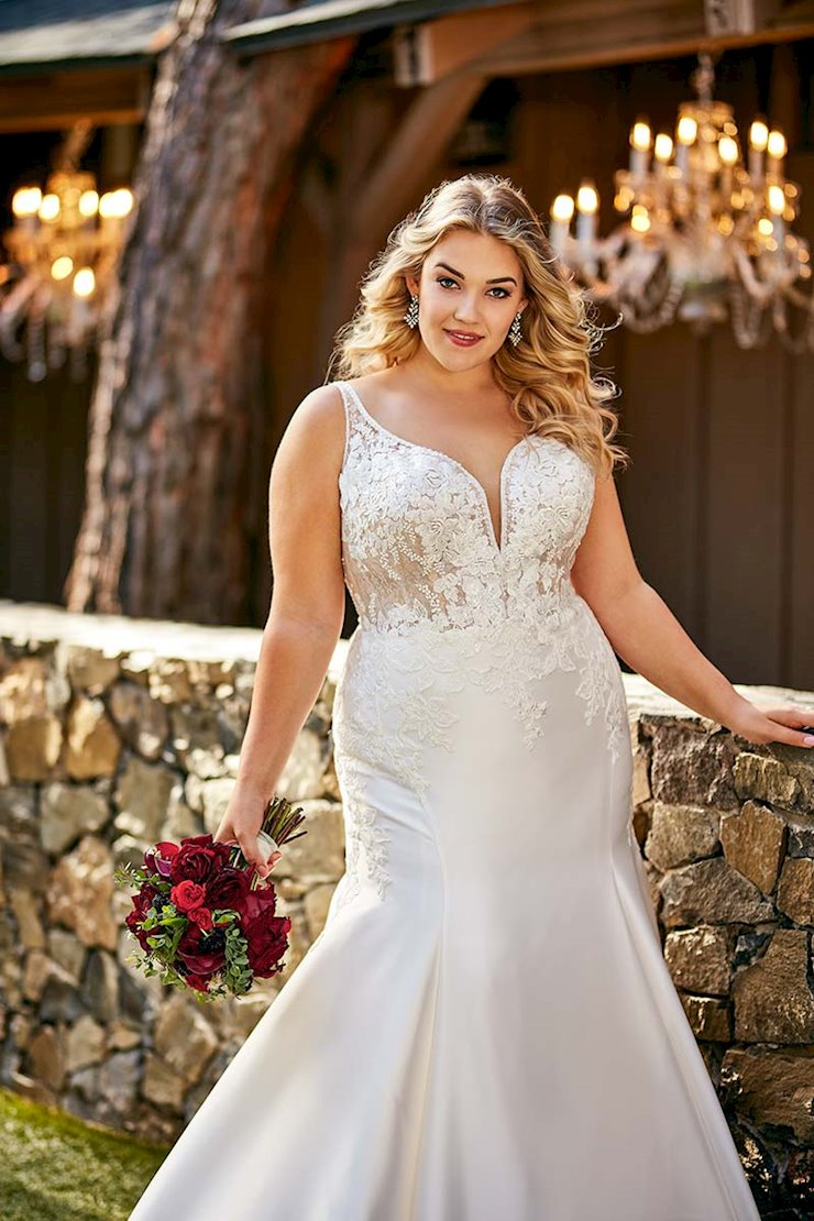Essense of Australia Plus Size D2675