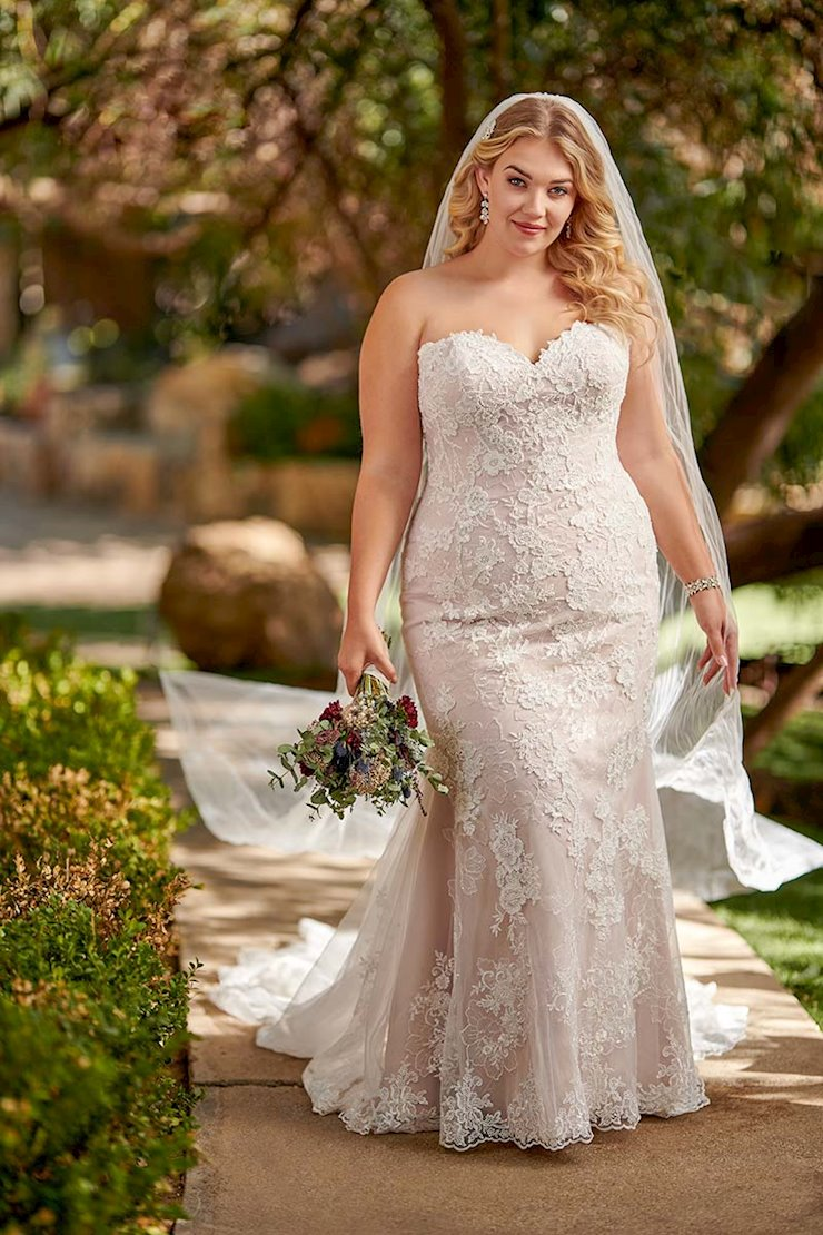 Essense of Australia Plus Size D2683
