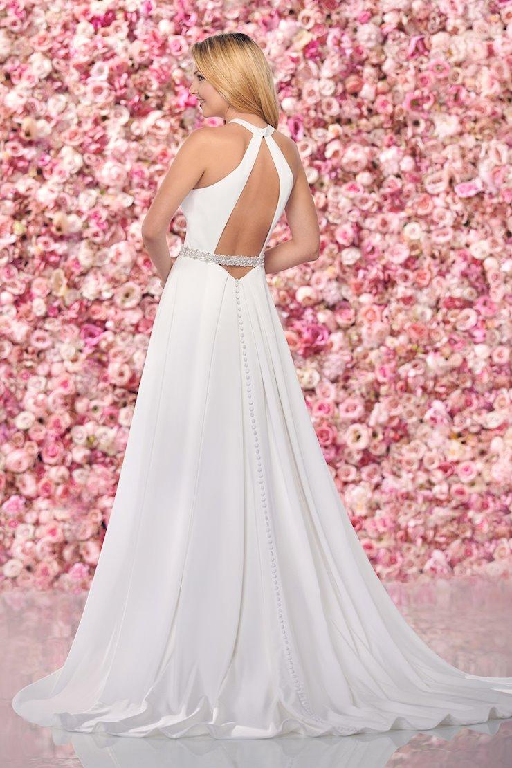 Regal Satin A-Line Gown with Halter Neckline
