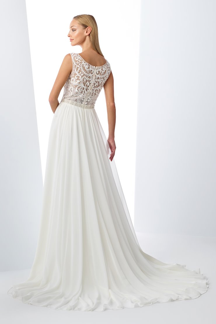 Enchanting Chiffon A-Line Gown with Sequin Bodice