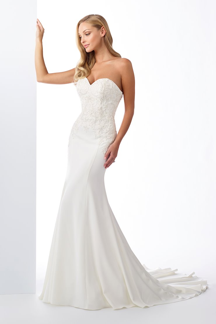Fabulous Strapless Sweetheart Fit and Flare Gown