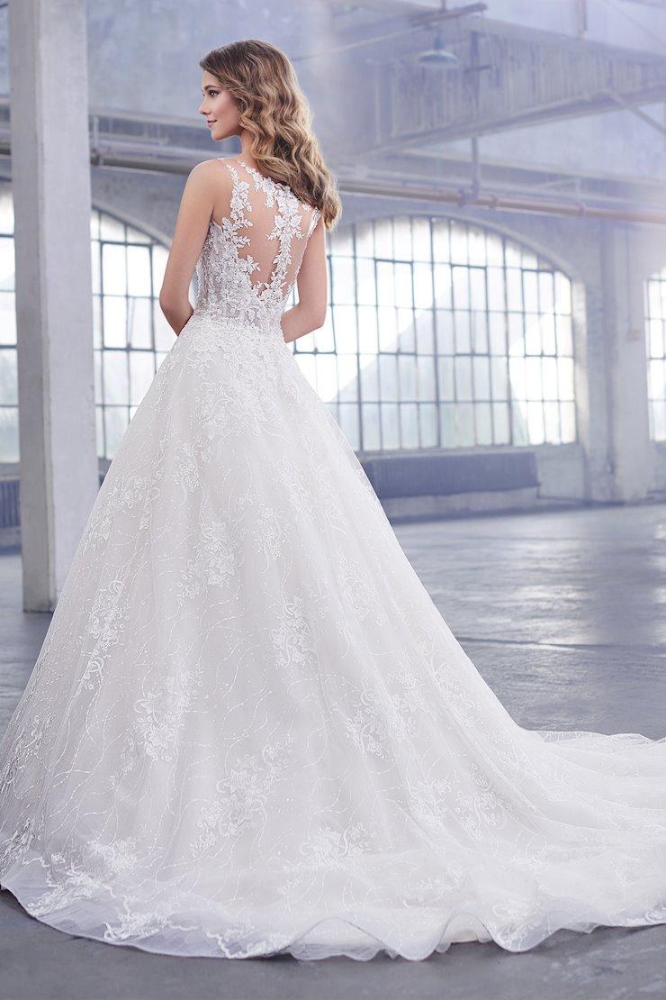 Celine Romantic Sleeveless Lace A-Line Gown