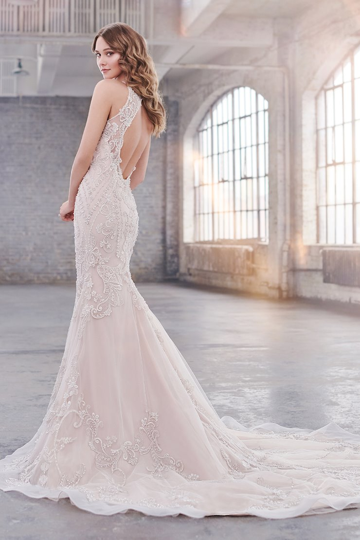 Taylor Intricate Trumpet Gown