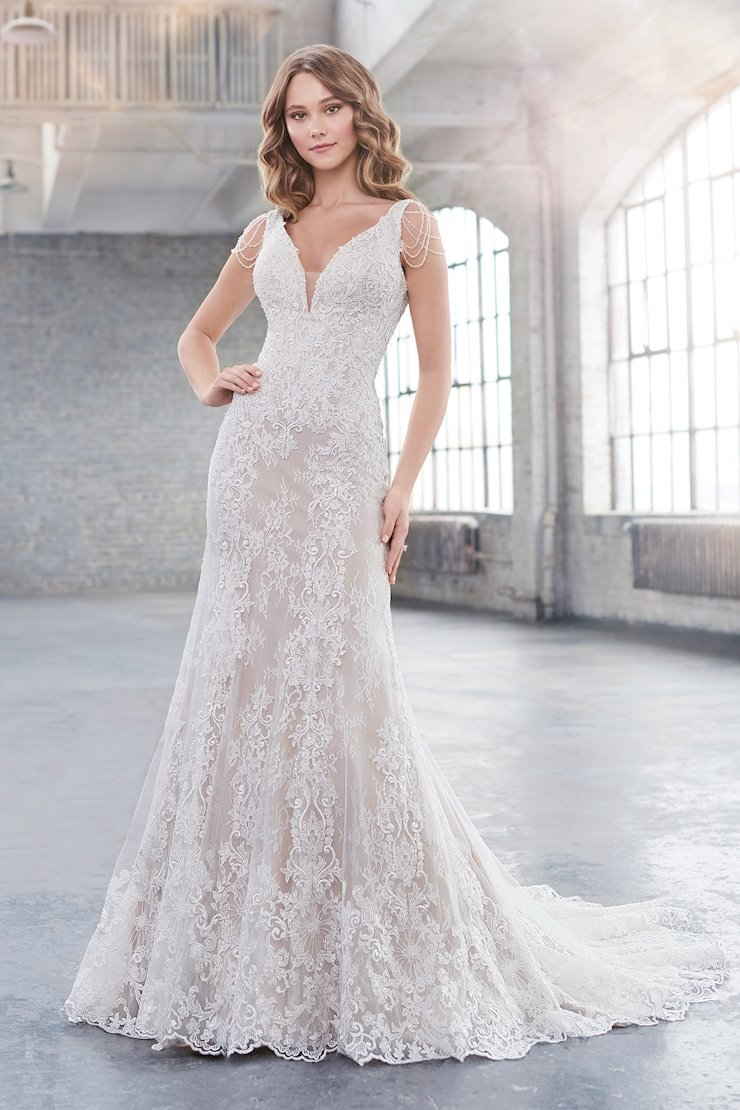 Lauryn Stunning Lace Fit and Flare Gown with Stretch Lining