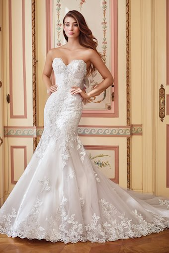 Danae Strapless, Sexy Lace Mermaid Gown