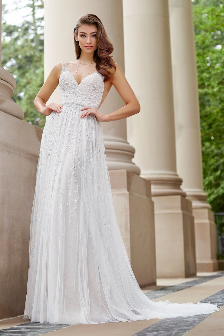 Stanza Awe-Inspiring Sleeveless A-Line Gown