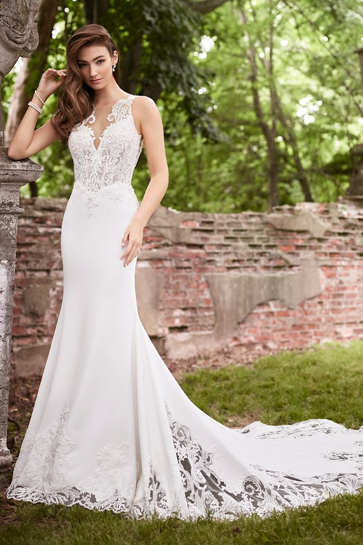Danielle Fresh Fit and Flare Gown with Corset Lace Bodice