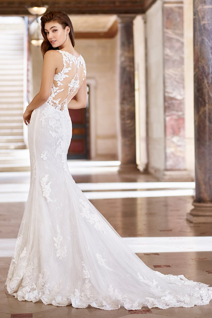 Rachel Marie Sexy Sleeveless Lace Fit and Flare Gown