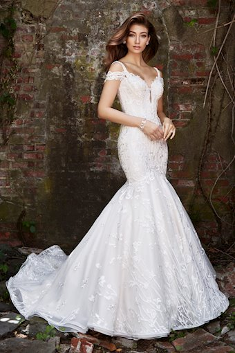 Claire Striking Off-the-Shoulder Mermaid Gown with Sweetheart Neckline
