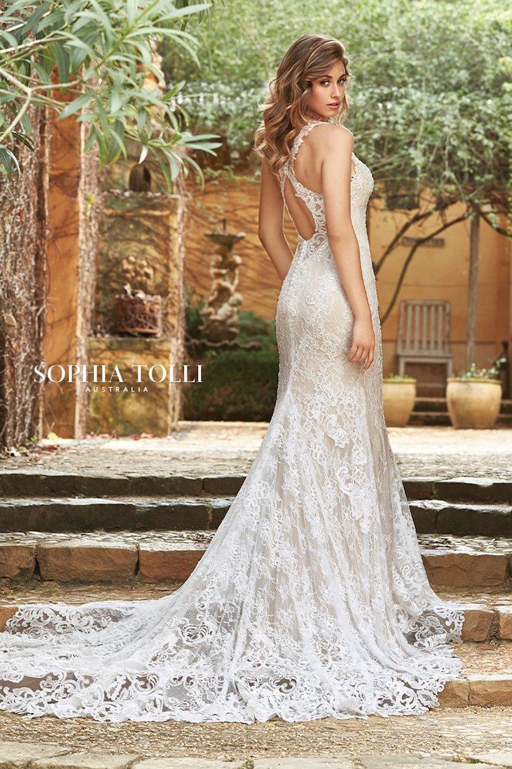 Layered Lace Wedding Dress with Stunning Train Layla