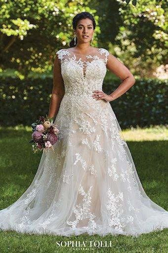 Soft Romantic A-Line Wedding Dress Rosa